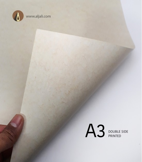 ورق مطبوع بشعيرات A3